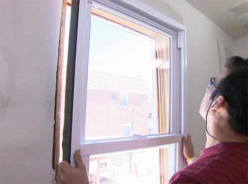 DIY window fitting