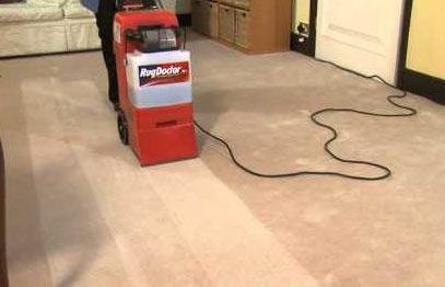 RugDoctor upright carpet cleaner