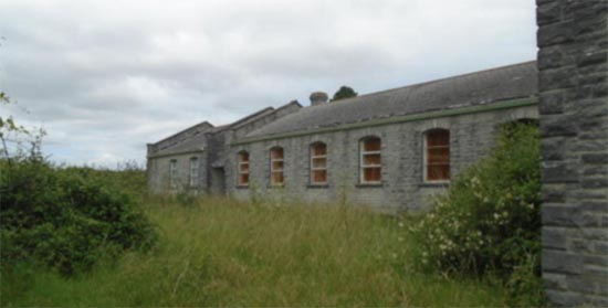 Old and abandoned building can be selfbuild plots