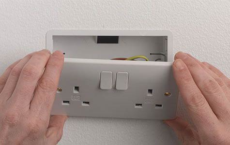 Repairing a Damaged Electrical Socket in Easy to Follow Steps