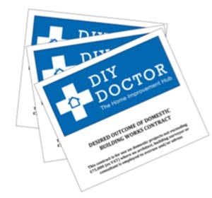 DIY Doctor desired outcome building contract