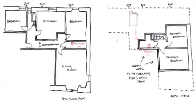 200511 soil pipe route and length online query.png