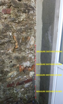 Verticle injection DPC at rear of property the spacing of 4 holes is too far apart 1.jpg