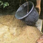 Sand and Cement Mixes