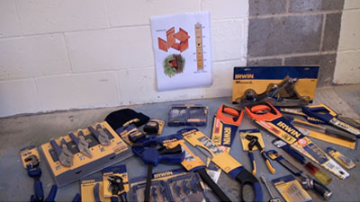 New set of tools donated to Deen City farm by DIY Doctor