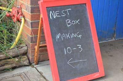 Free nest box workshop at Deen City Farm