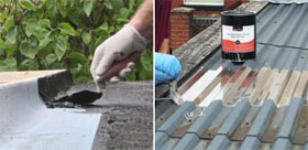 Rizistal roof repair and solar reflector coverings