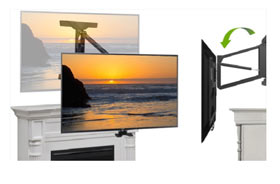 Tranquil Mount flat screen TV wall mount