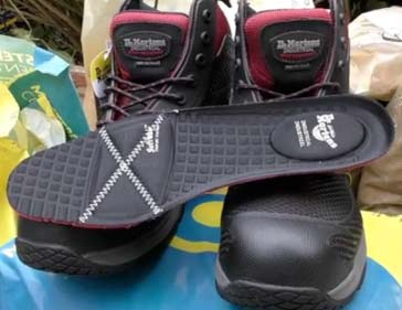 Removable smart foam footbed from DMs lite