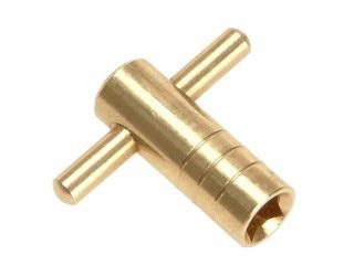 Radiator valve bleed key