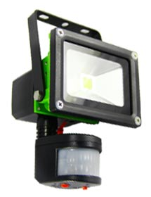 Rechargeable PIR lighting from Flood-It