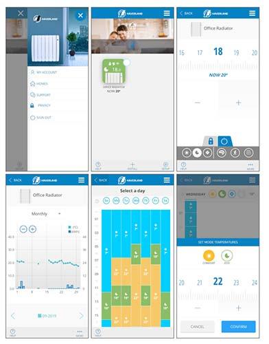 Haverland SmartWave smartphone app