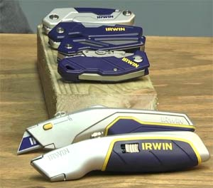 Irwin Folding and Utility Knives