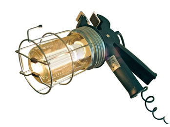 Loft inspection or lead light with trailing cable