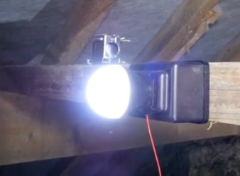 Fully fitted and working Loft Light
