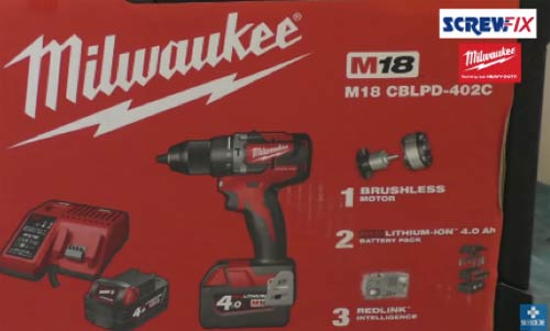 Milwaukee M18 CBLPD Brushless Combi