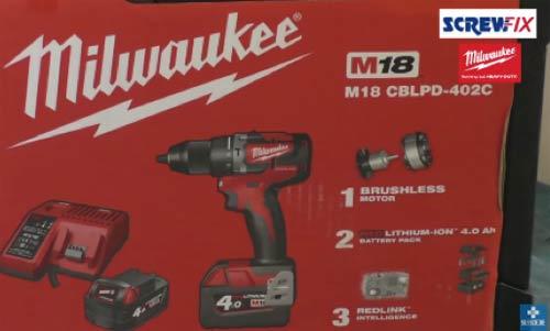 Milwaukee M18 CBLPD Brushless Combi