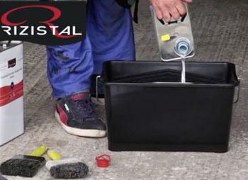 Rizistal's concrete sealer