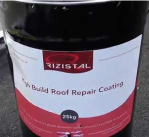 High Build Bitumen Repair in a 25kg container