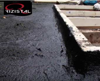 High Build Bitumen flat roof