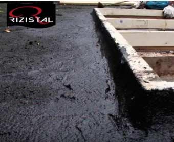 High Build Bitumen flat roof