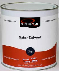 Safer Solvent for cleaning tools