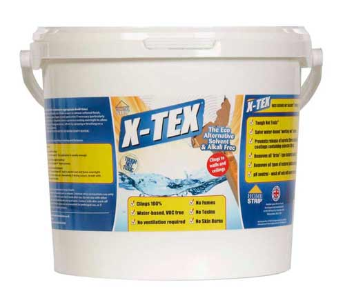 X-Tex to remove Artex from walls and ceilings
