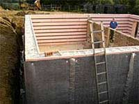 Another floor can be added to the house with a basement on a new build house