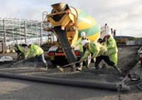 oncreting with ready mixed concrete can save lots on big jobs