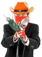 Cowboy builders and rogue tradesmen are simply crooks and thieves