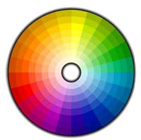 Decorators colour wheel