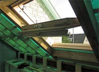 Roof windows are a good way to let light into a loft conversion