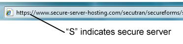 Secure Server URL