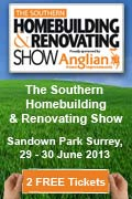 The Southern Homebuilding and Renovating Show 2013, Sandown Park, Surrey