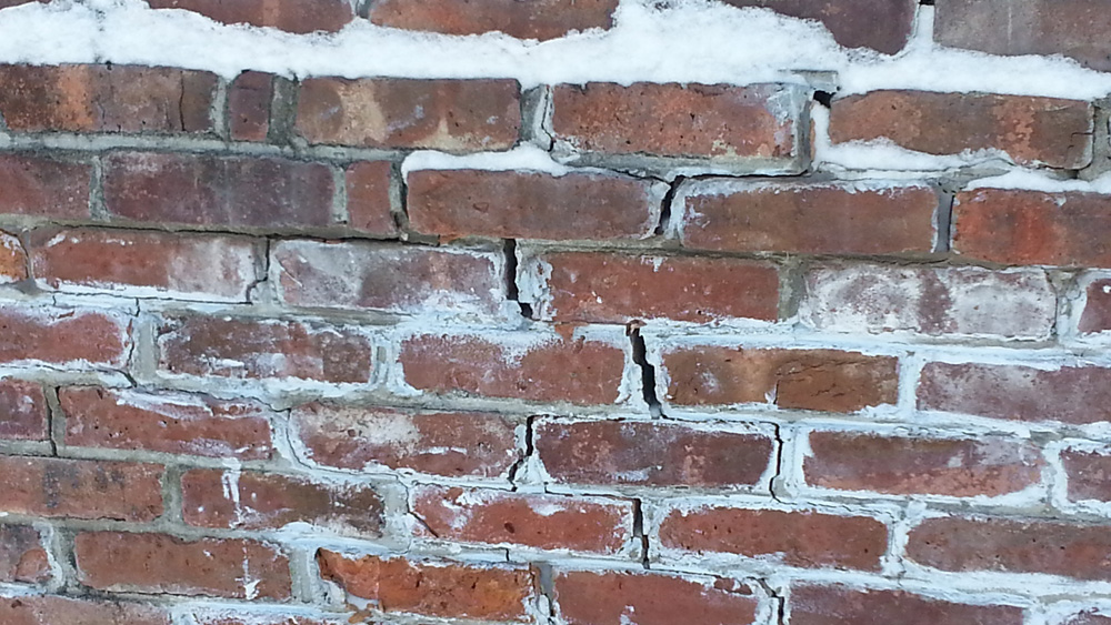 Freeze-thaw Action On Masonry and Bricks and Repairing Brick