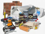 Selection of building and construction gear