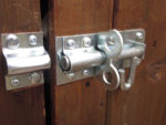 Fitting a Shed Lock