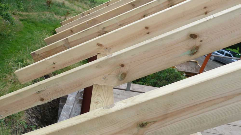 How To Cut A Birdsmouth Joint Fixing Rafters And Joists