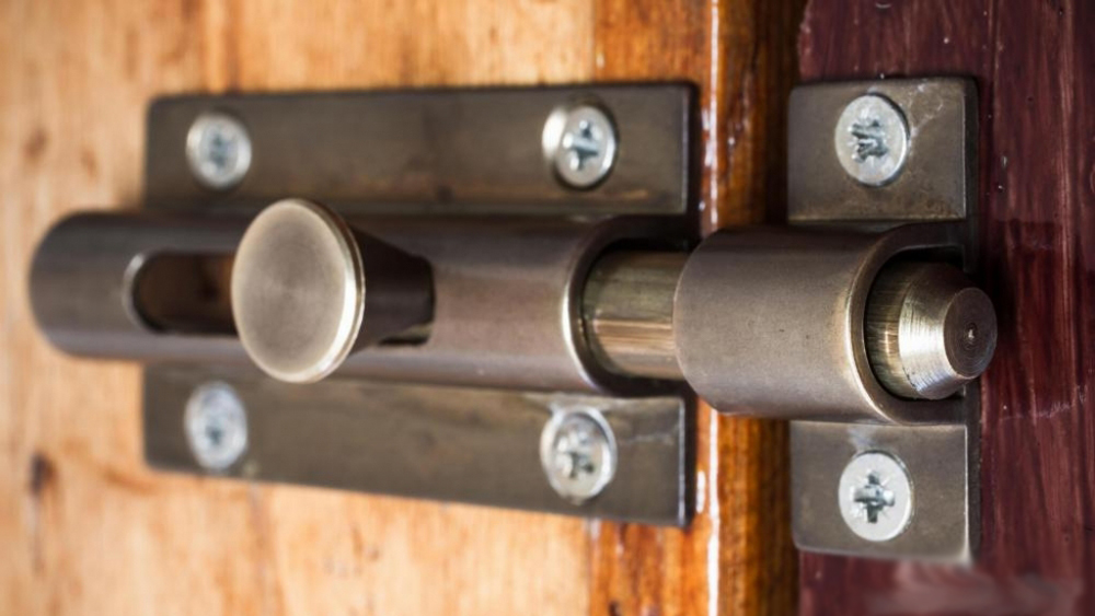 How To Fit A Sliding Bolt Or Barrel Bolt To A Door In Your