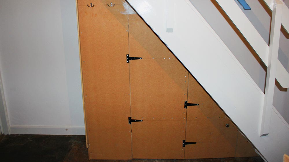 How To Build A Under Stairs Cupboard For Under Stairs