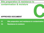 Building Regulations Approved Document C