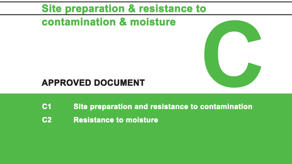Building Regulations Approved Document C Site Preparation