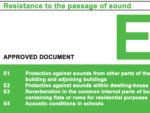 Building Regulations Approved Document E