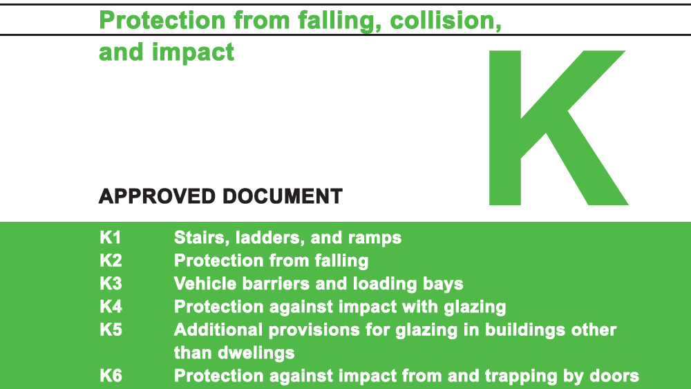 Approved Document K Building Regulations Protection From