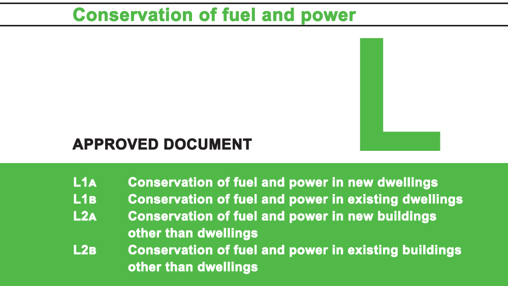Building Regulations Approved Document L Conservation of