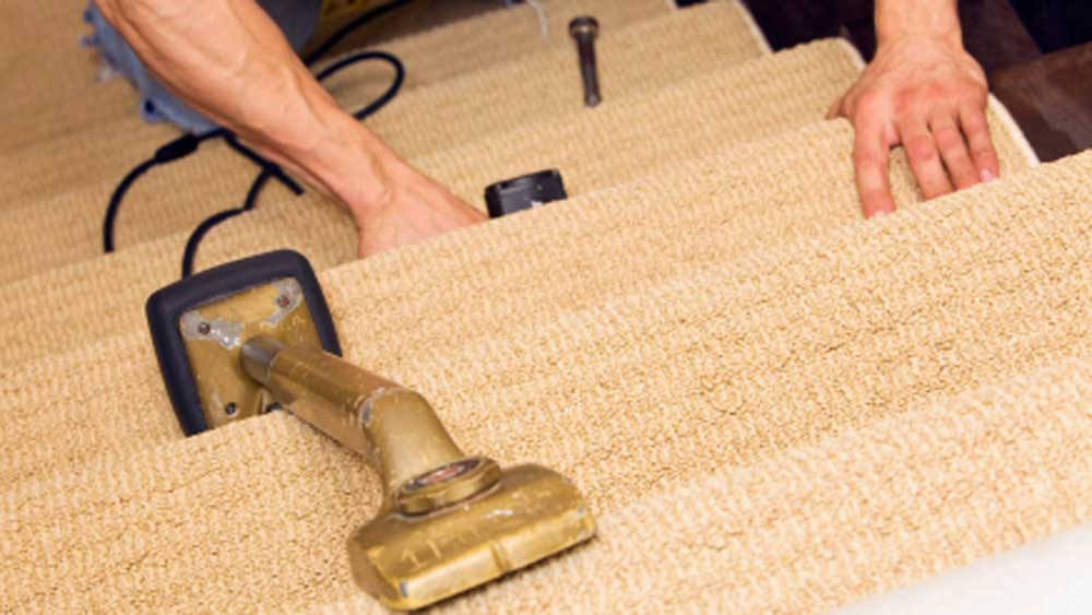 Carpeting Stairs Fitting Stair Carpets Laying Carpets On
