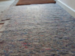 Laying Carpet Underlay