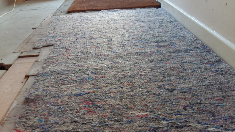 Laying Carpet Underlay Correctly And What Type Of Underlay