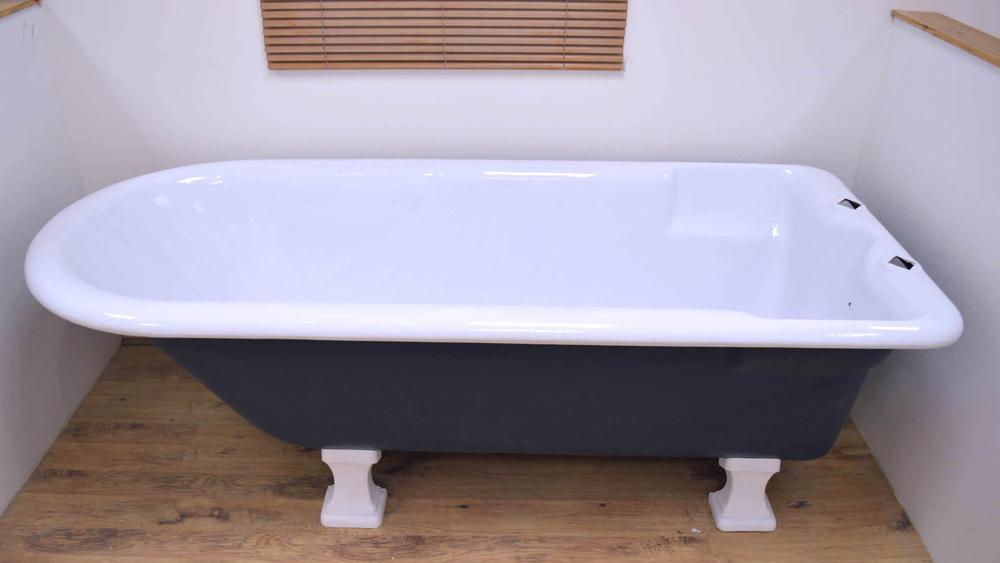 How To Install A Cast Iron Bath Including Advantages And Disadvantages Of  Cast Iron Baths | DIY Doctor