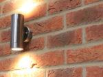 Choosing and Fitting an Exterior Wall Light or (PIR) Sensor Security Light